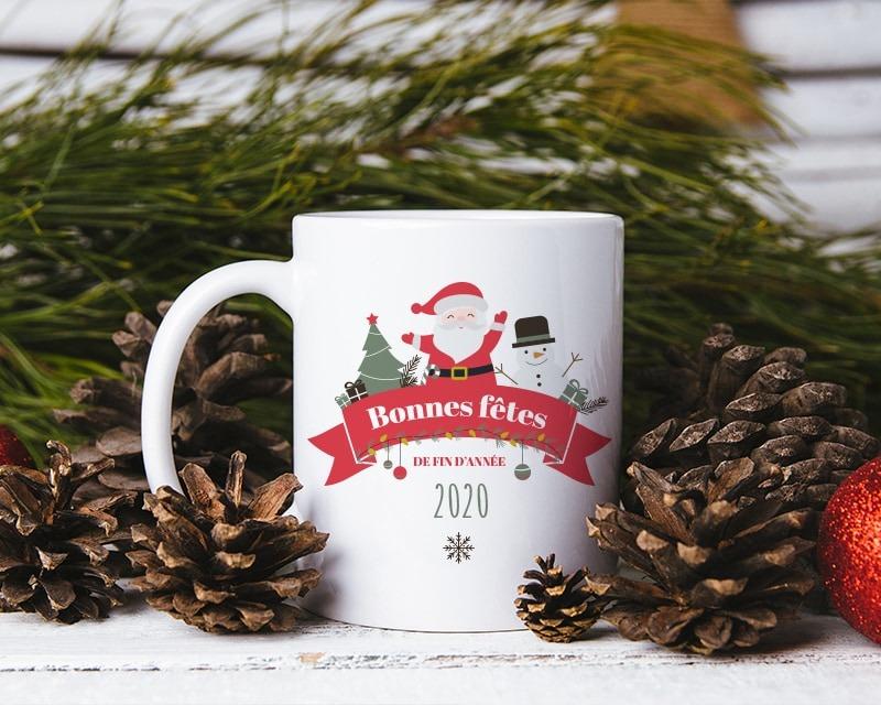 Mug personnalisé Secret Santa